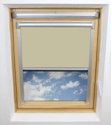 0017 002 Bog Cotton Velux Solar Skylight Blind