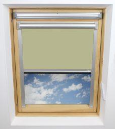 0321 Lime Green Solar Skylight Blind