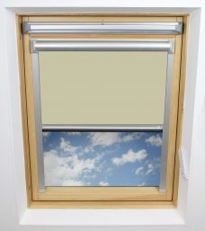 0421 Light Yellow Solar Skylight Blind