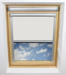 Delicate Cream 0649 Solar Skylight Blind