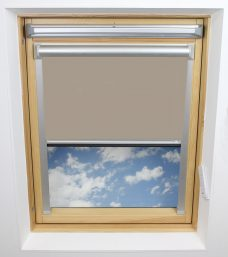 0652 Coffee Solar Skylight Blind
