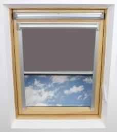 2226 718 Pewter Solar Skylight Blind