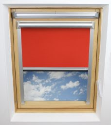 2228 851 Carnival Red Solar Skylight Blind