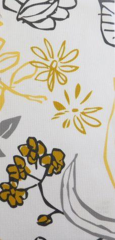 Folia Sunflower Senses Blind Fabric