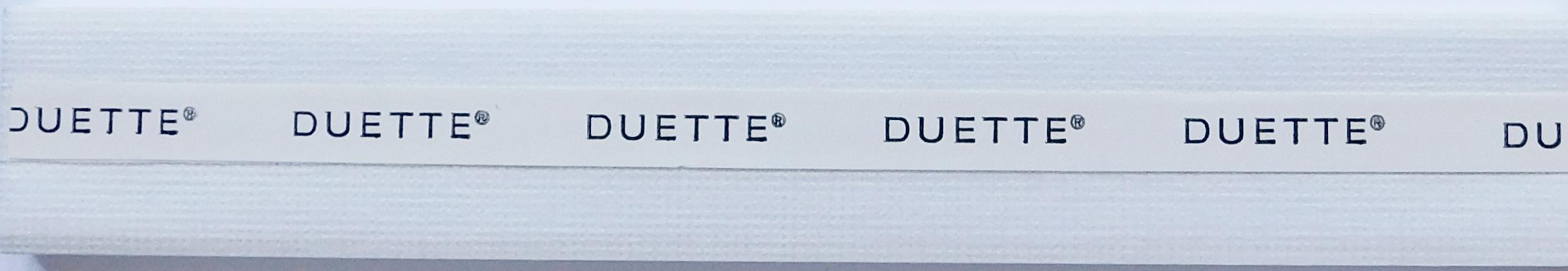 Hopsack White Duette Blind Fabric Sample