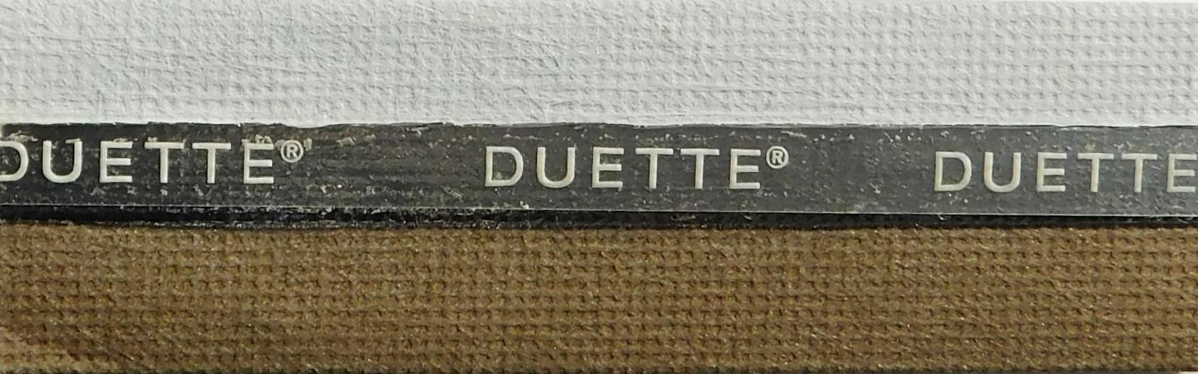 Unix Tusk Duette Blackout Fire Resistant Blind fabric