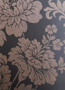 Abelia Umber Blind Fabric