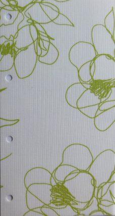 Angelica Apple Motorized Roller Blind Fabric
