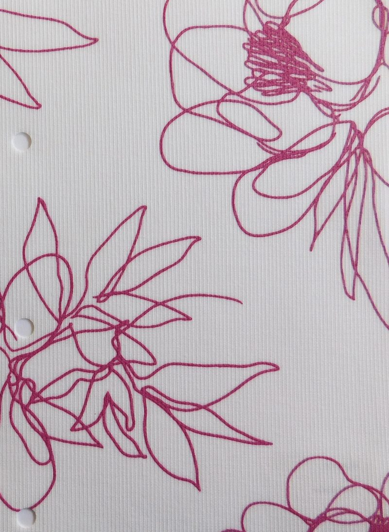 Angelica Pink Senses blind fabric