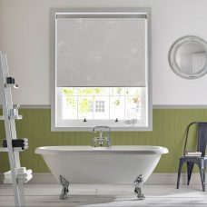 Angelica Pure Senses Roller Blind recess fitted in a bathroom