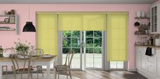 Aqua Safe Lemon- Senses blinds in kitchen