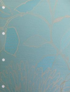 Aster Sea Blind Fabric