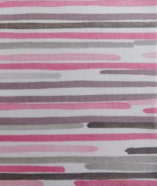 Barcode-linear-pink-roller blind fabric