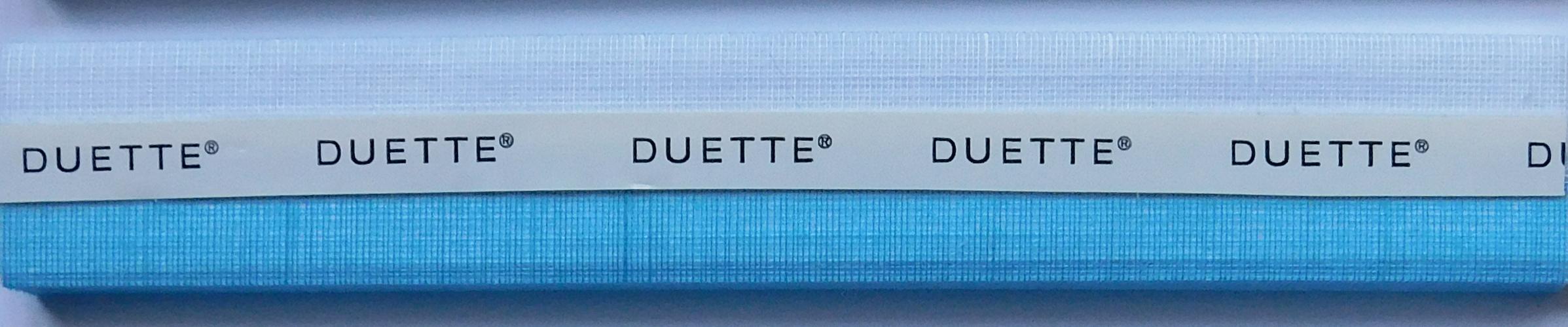 Batiste Scandia-Blue Duette Blind Fabric Sample