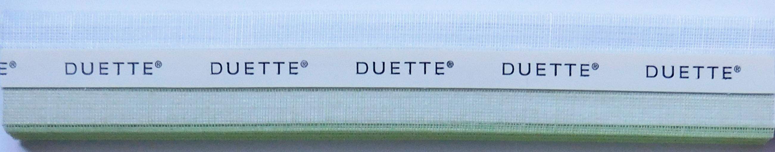 Batiste Sheer Apple Green Duette Blind Fabric Sample