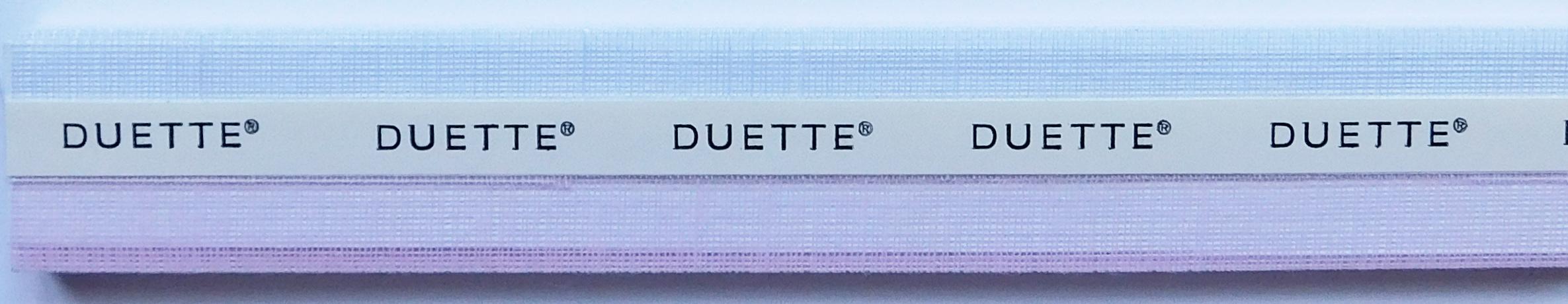 Batiste Sheer Blackberry Ice Duette Blind Sample fabric