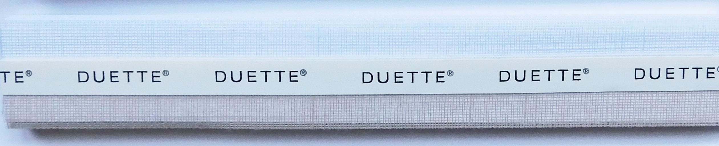 Batiste Sheer Oyster Duette Blind Fabric Sample