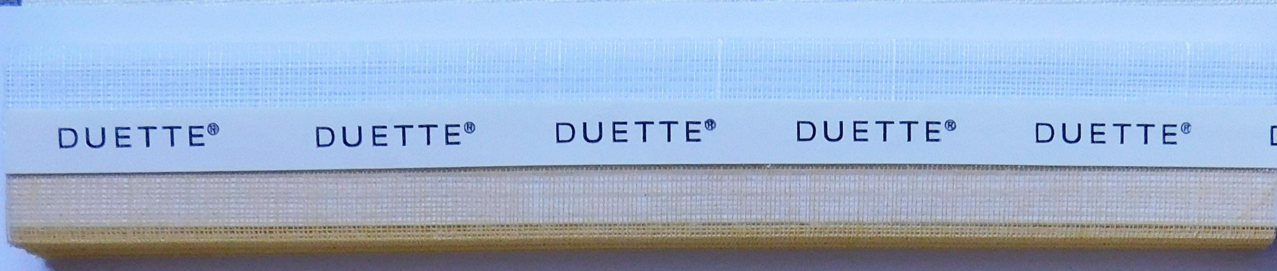 Batiste Sheer Tumblestone Duette Blind Fabric sample