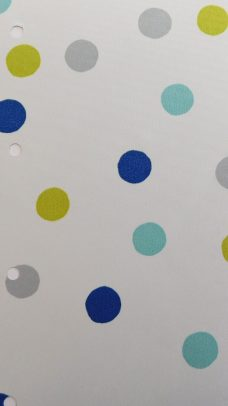 Bubbles Blue Blind Fabric