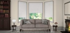 Diffusion Cloud sheer Sense blinds in a lounge