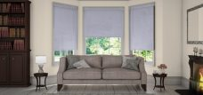 Diffusion Storm Roller Blinds in a lounge