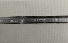 Duette Pigeon Blackout Blind Fabric 64mm