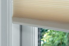 Duette Sand Blackout Blinds 64 mm