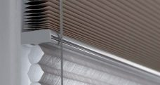 Duette Tusk Blackout Blinds 64 mm - Two Different Fabrics On The Same Headrail