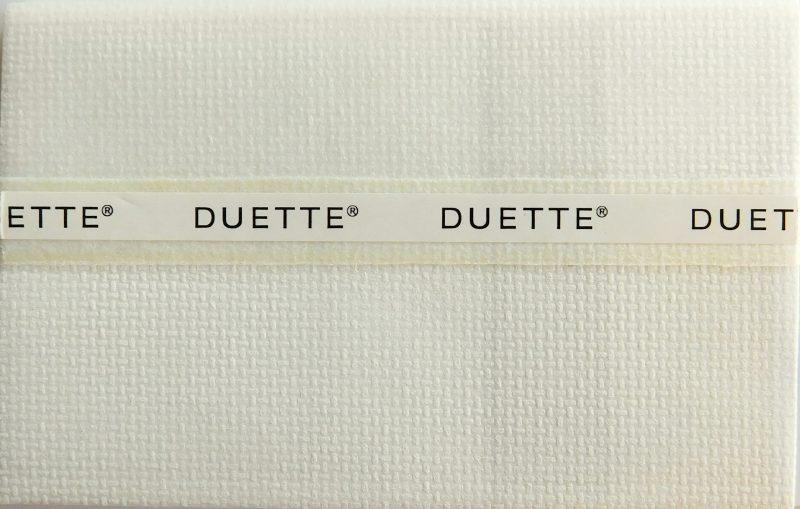 Duette Swan Duo Tone Blind Fabric 64mm