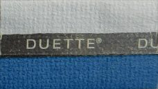 Duette Classic Cloud Blue Blackout Blind Fabric 25mm