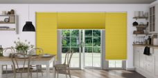 Duette-classic-25 mm-duo-tone-honeycomb blinds in a kitchen