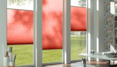 duette-fixe-25mm-duo-tone-brandy-flame blinds