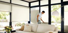 Duette-fixe-25 mm-duo-tone-papyrus blinds