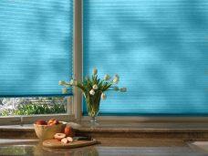 Duette-fixe-25 mm-elan-bright-aqua blinds
