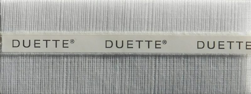 Duette Fixe Dolphin Batiste Blind Fabric 32mm