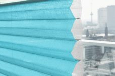 Duette Fixe Scandia Blue Batiste Blind 32 mm