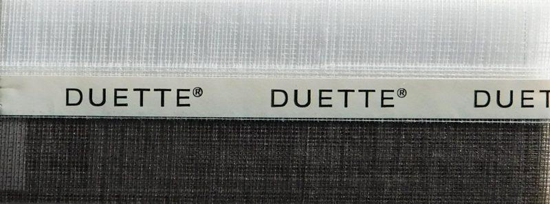 Duette Fixe Sheer Black Batiste Blind Fabric 32mm