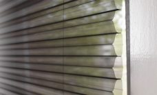 Duette Fixe Sheer Black Walnut Batiste Blind 32 mm