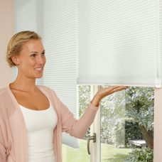 Two Duette Dolphin Full Tone Blinds 25 mm with Lite Rise mechanism