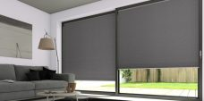 Two Classic Duette Shark Blackout Blinds 25 mm - Economy Fabric