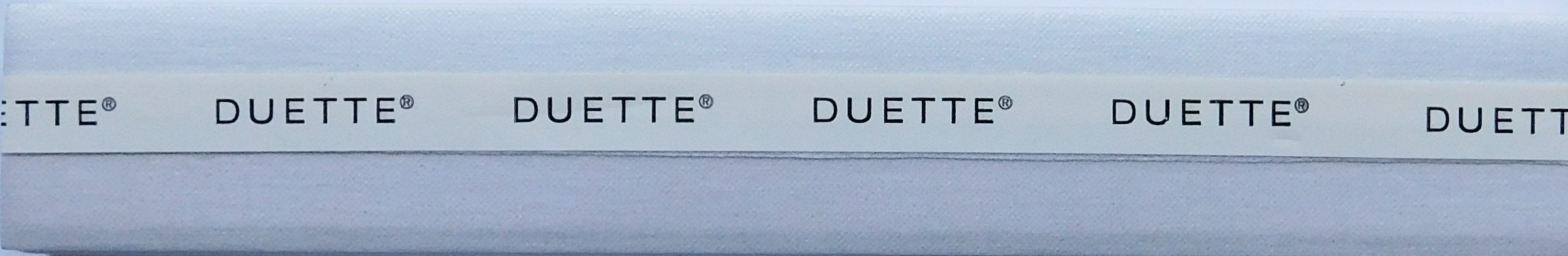 Elan Greyscale Duotone Duette Blind Fabric