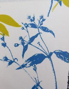Foxglove Bluebell Blind fabric