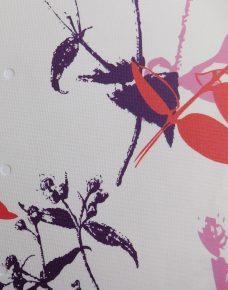 Foxglove Fusion blind fabric