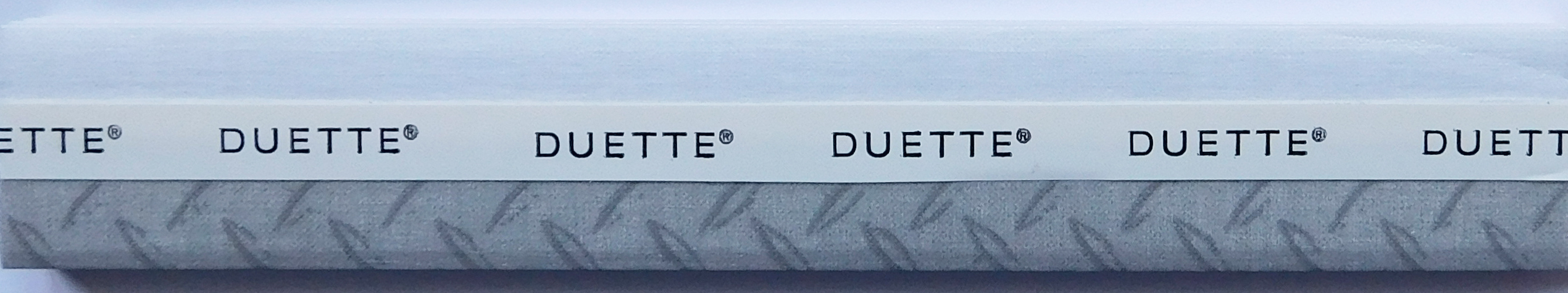 Hank Agate Grey Duette Blind fabric