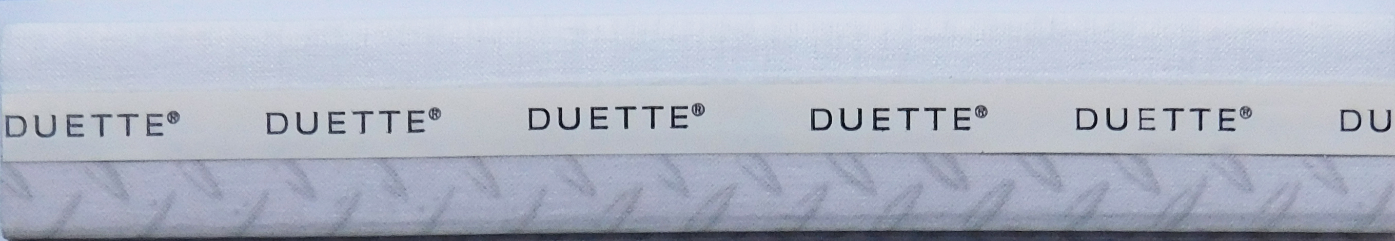 Hank Dolphin Duette Blind Fabric sample