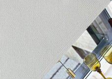 Panama Chalk Roller Blind close up