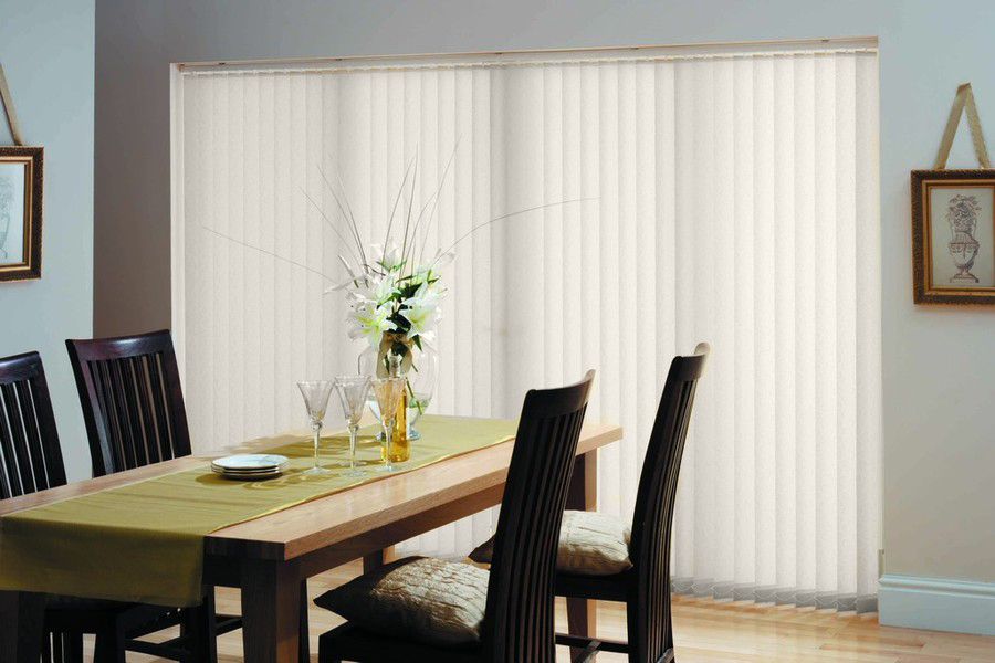 Prism Parchment Vertical Blinds