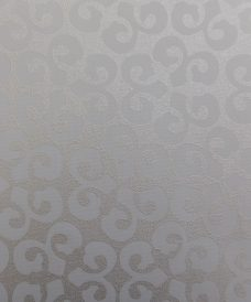 Renaissance White Gold Roller Blind Fabric