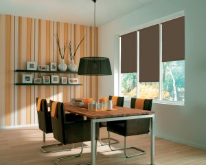 Rianna Duo Hazelnut roller Blinds