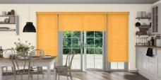 Rianna Sunbrella roller blinds in a kitchen